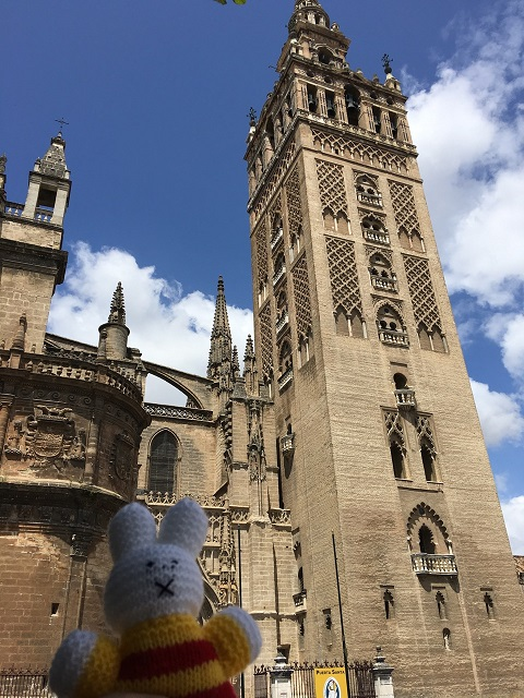 Ko Nientje in Sevilla (Spanje)