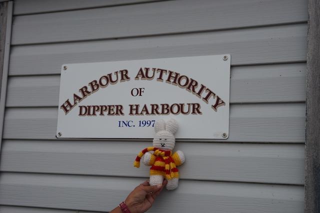Ko Nientje in Dipper harbour (Canada)