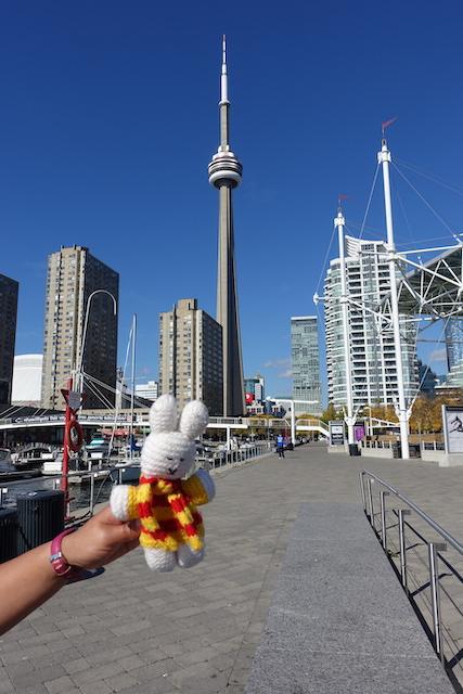 Ko Nientje in Toronto (Canada)