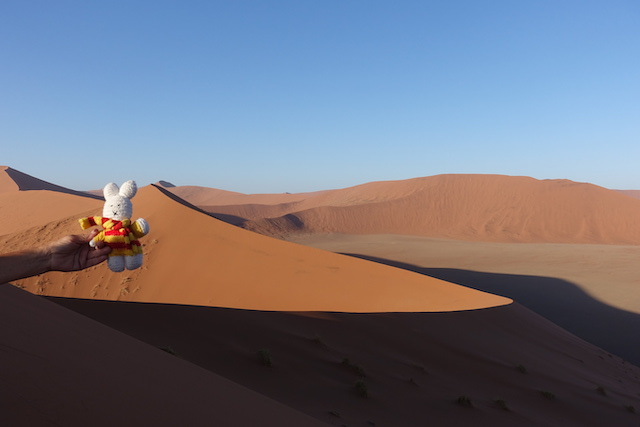 Ko Nientje in Sossosvlei (Namibië)