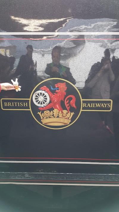 Ko Nientje rijdt mee met de Jacobieten-trein vanaf Fort William, Schotland