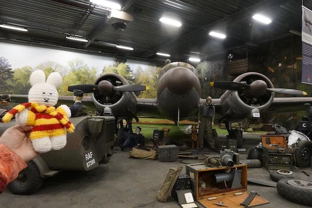 Ko Nientje in het Victory Museum in Grootegast