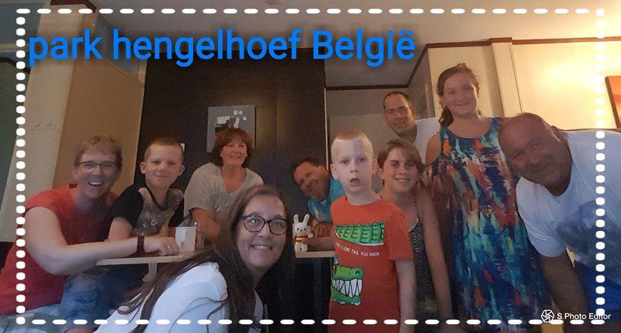 Ko Nientje in Park Hengelhoef (België) met Fam. Driesse, Fam. Seters en Fam. de Bruyn