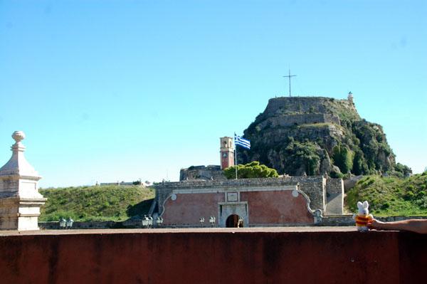 Ko Nientje bij Kerkyra, Corfu