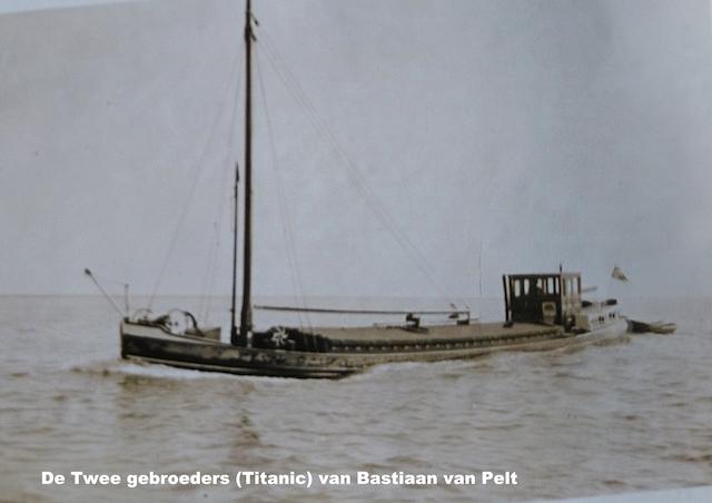 De Twee gebroeders (Titanic) van Bastiaan van Pelt