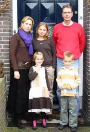 De familie Koppenaal voor de
