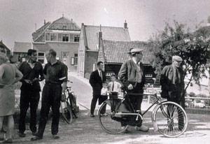 oude foto van Stad